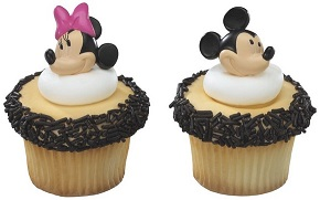 MICKEY & MINNIE MOUSE RINGS
