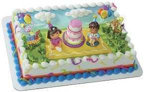 DORA BIRTHDAY CAKE KIT