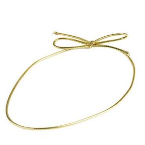 """Gold 18"""" Loop - qty 5"""