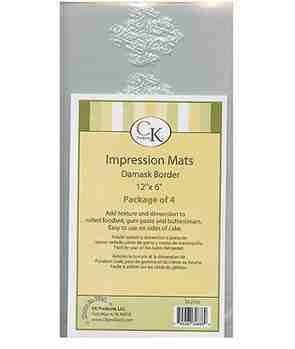 IMPRESSION MAT-DAMASK BORDER/4
