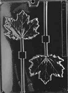 LARGE MAPLE LEAF LOLLY