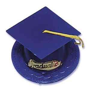 Graduation Hat - Blue