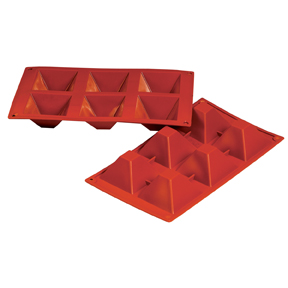 Fat Daddios Silicone Molds - Pyramid 3oz