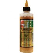 Chefmaster Airbrush Color 8oz - Metallic Gold