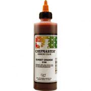 Chefmaster Airbrush Color 8oz - Sunset Orange