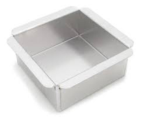 "Commercial Square Pan - 6""x6""x3"""