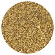 SUGAR CRYSTALS - 16 OZ - PEARLIZED GOLD