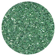 SUGAR CRYSTALS - 4 OZ - PEARLIZED GREEN