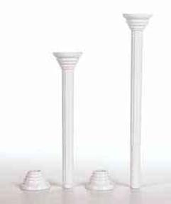 "Wilton - Disposable Pillars - 9"""