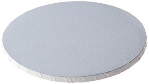 """White Round Drum - 8"""""""