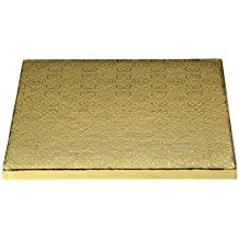 Gold Square Drum - 12""