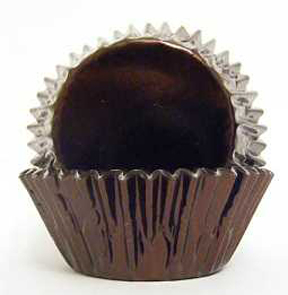 Standard Foil Baking Cups - Brown - 30ct