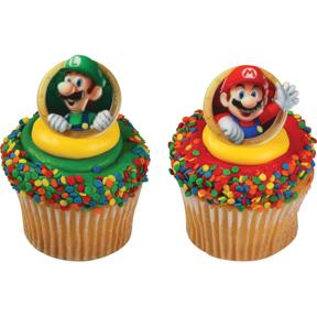 Mario Bros Rings
