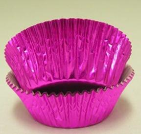 Standard Foil Baking Cups - Hot Pink - 30ct