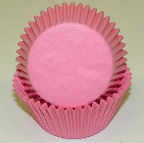 Standard Glassine Baking Cups - Light Pink - 30ct