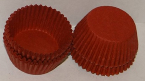 Candy Cups - Red - Small - qty 1000