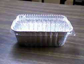 Aluminum Loaf Pan With Lid - qty 200