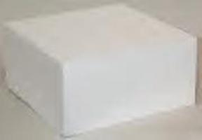"Square Cake Dummy - 20""x4"""
