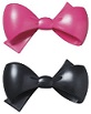 BOW - PINK & BLACK