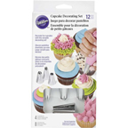 Cupcake Piping Tip Set
