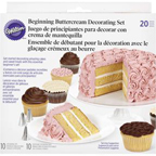 20 Piece Beginning Buttercream Decorating Set