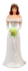 Caucasian Bridesmaids - White Dress