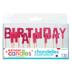 Happy Birthday Glitter Pick Candles ‑ Pink