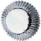 Jumbo Foil Baking Cups - Silver - 30ct