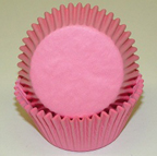 Mini Solid Baking Cups - Light Pink - 50ct