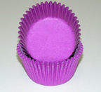 Mini Solid Baking Cups - Purple - 50ct
