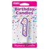 PURPLE NUMERAL CANDLES - 1