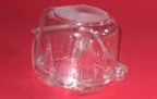 Single Cupcake Container - High - qty 1