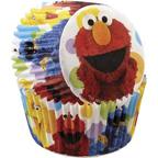 Sesame Street Baking Cups