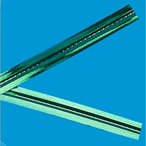 Metallic Green Twist Ties