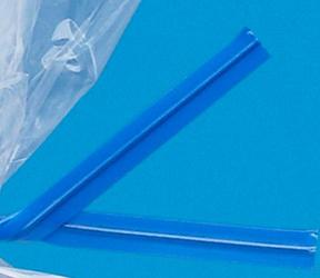 Blue Twist Ties
