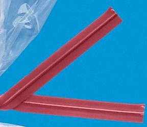Red Twist Ties
