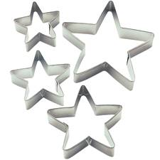 Stars Nesting Metal Cutter Set