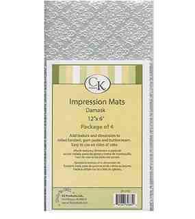 IMPRESSION MAT-DAMASK /4