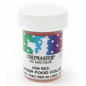 Powder Food Color - Red - 3 grams