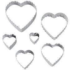 Wilton Heart Fondant Double Cut-Outs