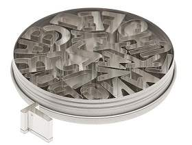 CUTTER SET - ATECO Metal AlphabeT