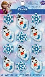 Disney Frozen Icing Decorations
