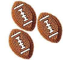 Wilton®Football Icing Decorations