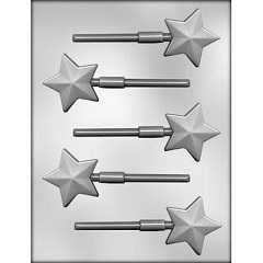 "2"" FACETED STAR SKR CHOC MOLD"
