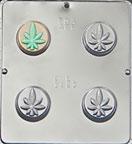 Marijuana Leaf Cookie