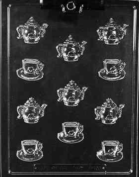 BS TEA POTS & TEA CUPS