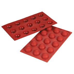 Fat Daddios Silicone Molds - Hemisphere 0.68oz