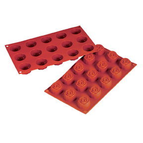 Fat Daddios Silicone Molds - Rose 0.78oz