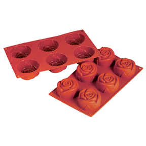 Fat Daddios Silicone Molds - Rose 3.89oz