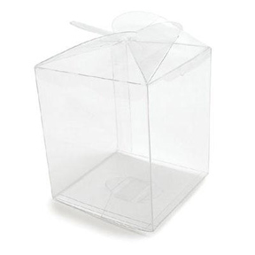 Clear Apple Box - qty 2